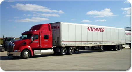 Hummer Truck and Van Trailer